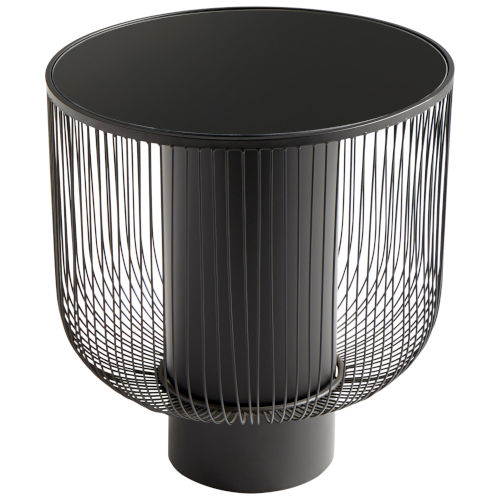 Graphite Small Carousel Table
