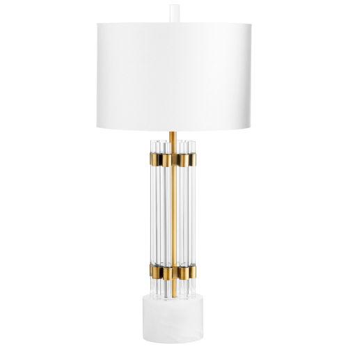 Brass Kerberos Table Lamp