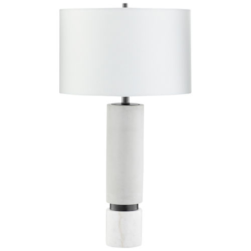 Astral Gunmetal 16-Inch Table Lamp