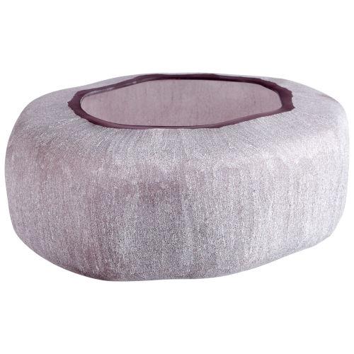 Textured Plum 12-Inch Vervain Vase