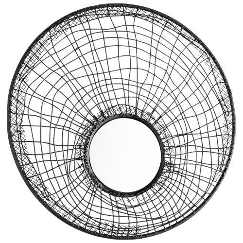 Graphite 11-Inch Silk Noir Mirror