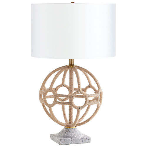 Aged Brass Basilica Table Lamp
