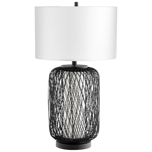 Pewter Nexus Table Lamp