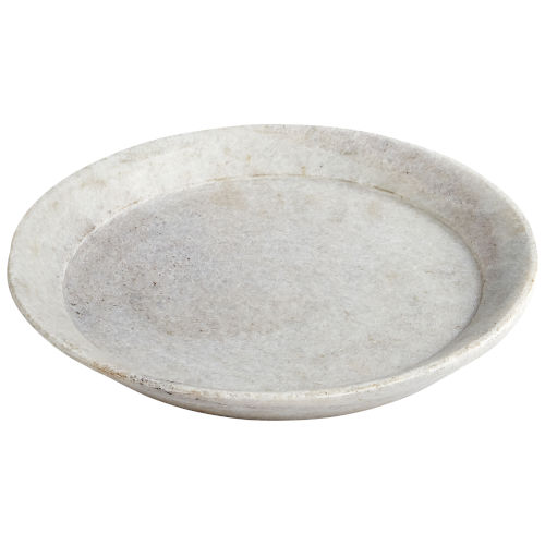White 10-Inch Ronds Tray