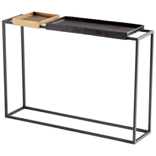 Bronze and Brass Lanvin Console Table
