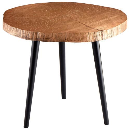 Copper Timber Side Table