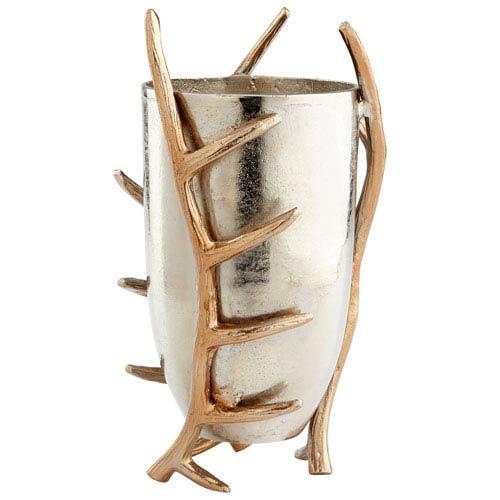 Nickel Large Nights Watch Vase