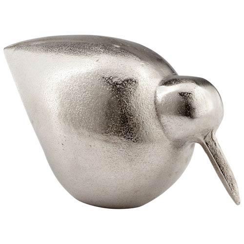 Raw Nickel Small Tweetledee Sculpture