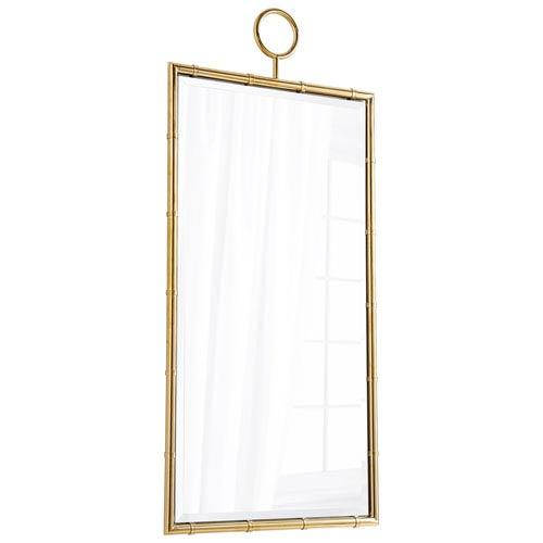 Brass Golden Image Mirror