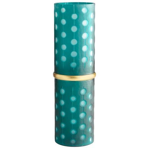 Green Cascade Parade Vase