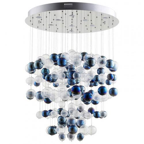 Champagne Circus Nine-Light Pendant
