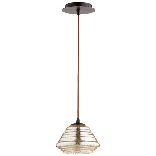 Celeste One-Light Bronze Pendant