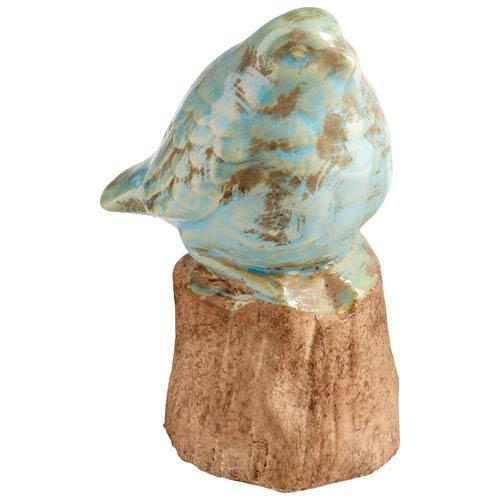 Cyan Design Small Bird On A Perch Sculpture