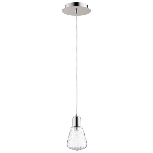 Cyan Design Sweetness and Light One-Light Polished Nickel Pendant