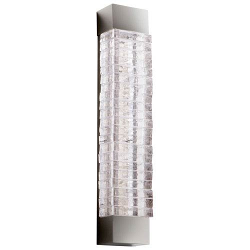 Kallick Two-Light Polished Nickel Wall Sconce