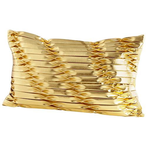 Cyan Design Golded Bow Pillow