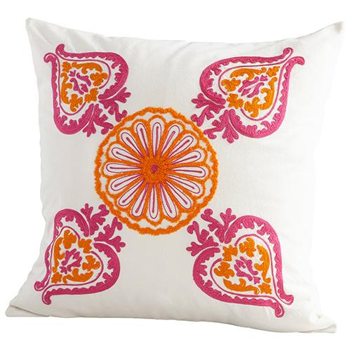 Cyan Design Charlotte Floral Pillow