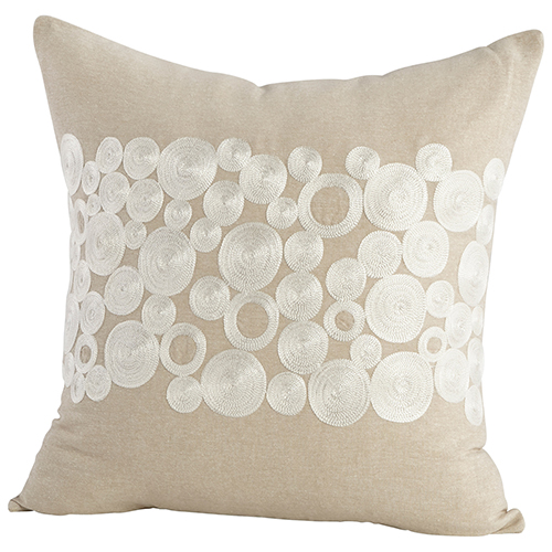 Cyan Design Kissy Circles Pillow