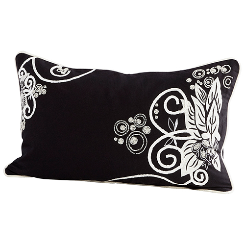 Snow Blossom Pillow