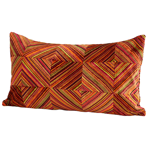 Dueling Diamonds Pillow