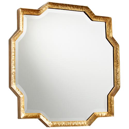 Cyan Design Abegayle Gold Mirror