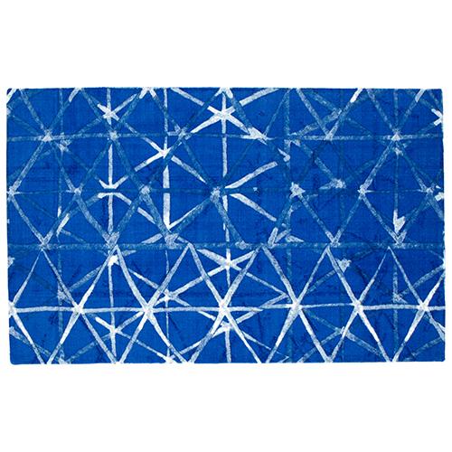 Cyan Design Shibori Weave Rectangular: 5 x 8 Ft. Rug