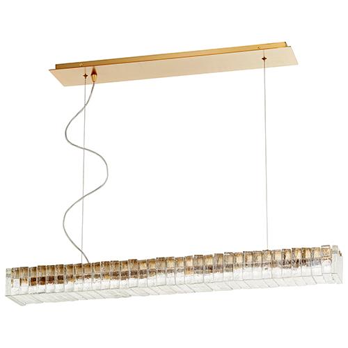 Cyan Design Kallick Aged Brass Eight-Light LED Pendant