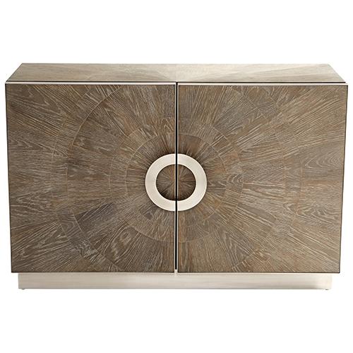Volonté Weathered Oak Cabinet