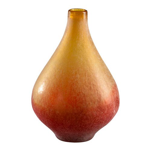 Cyan Design Yellow and Orange Medium Vizio Vase