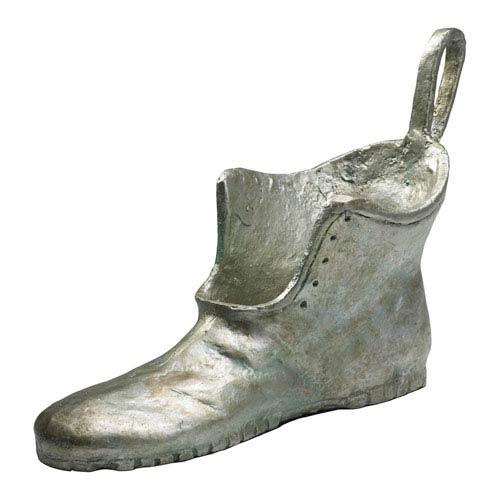 Pewter Shoe Token