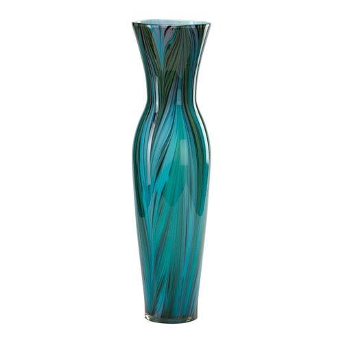 Cyan Design Peacock Feather Blue Tall Vase 02921 Bellacor