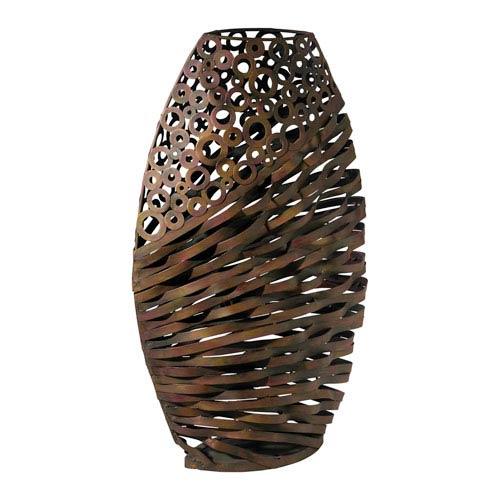 Alicia Byzantine Oxide Wire Vase