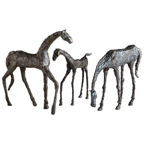 Bronze Filly Sculpture