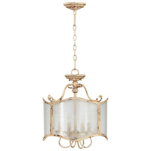 Maison Persian White Four-Light Dual Mount Chandelier