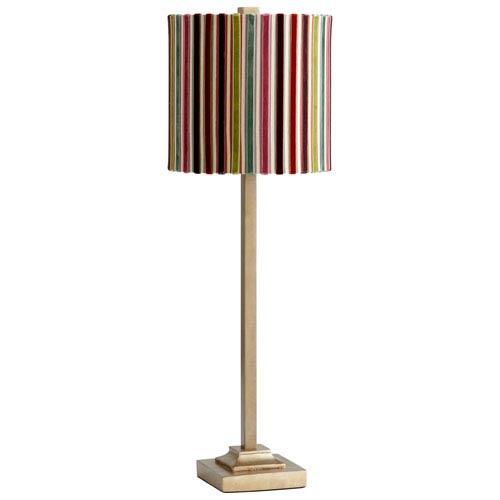 Santa Cruz Gold One-Light Table Lamp