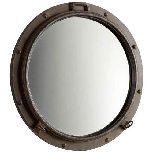 Porto Rustic Bronze Mirror