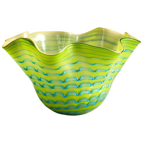 Cyan Design Glasgow Green and Blue Bowl