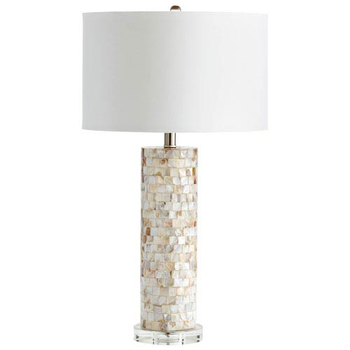 West Palm Mother of Pearl One-Light Table Lamp