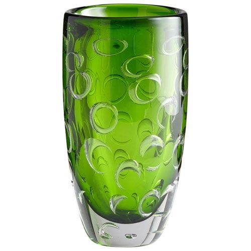 Cyan Design Brin Emerald Green Vase 05372 Bellacor