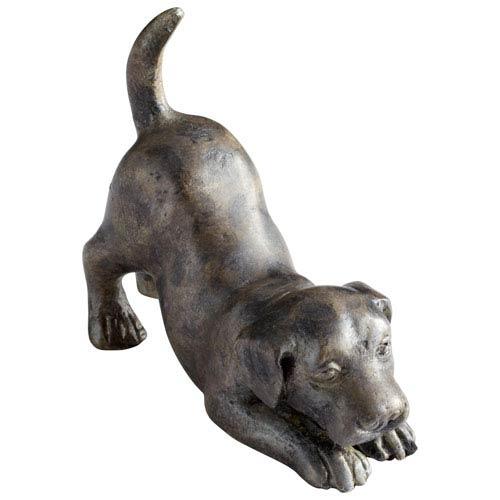 Painted Acid Hershey Puppy Sculpture