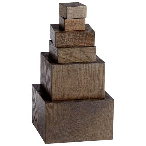 Cyan Design Brown Art Pedestals