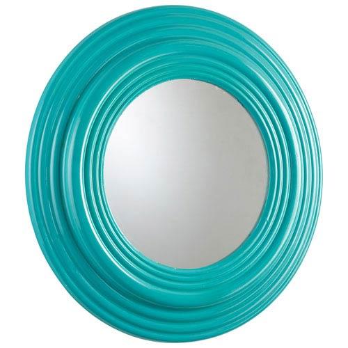 Cain Cyan Blue Mirror