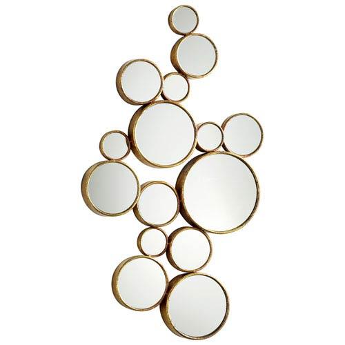 Bubbles Gold Mirror