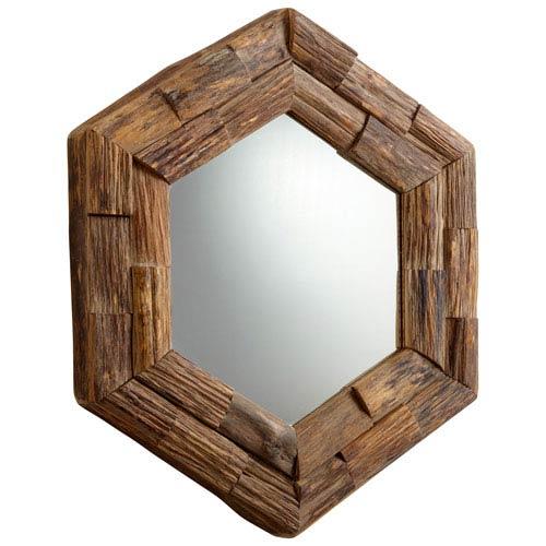 Pecon Hexagon Frontier Mirror