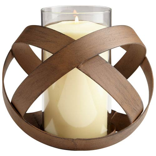 Copper Medium Infinity Candleholder