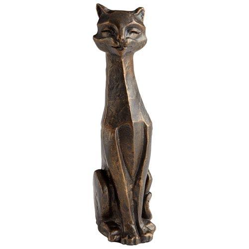 Bronze Eris Funny Cat Sculpture