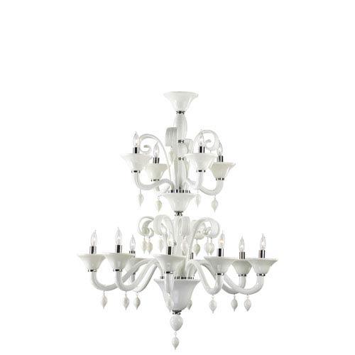 Cyan Design Treviso Twelve-Light Black Chandelier