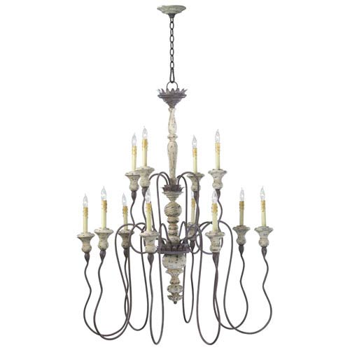 Provence Carriage House 12-Light Chandelier