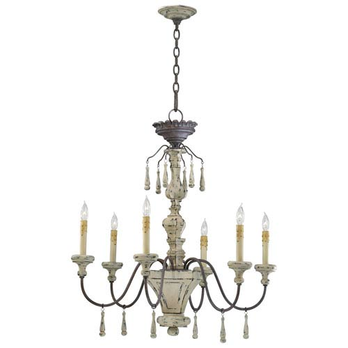 Provence Carriage House Six-Light Chandelier