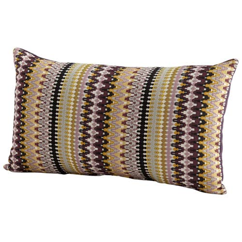 Ziggy Purple 14 x 24-Inch Pillow
